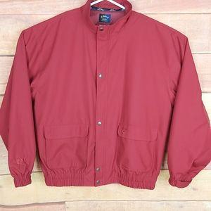 Callaway Golf windbreaker full zip jacket
